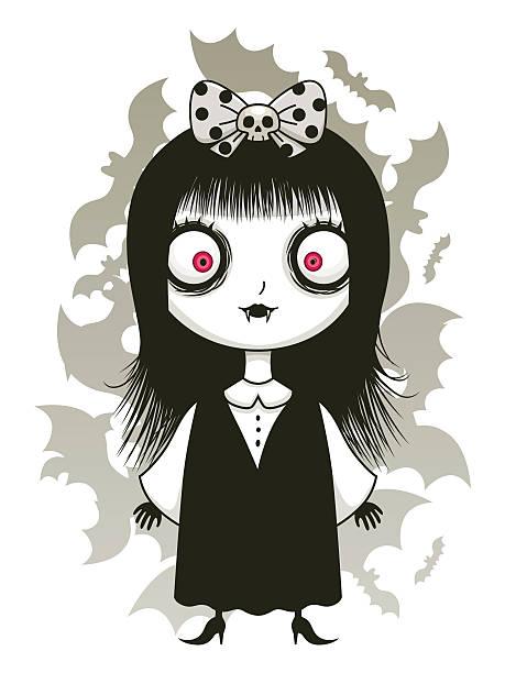 Best Vampire Girl Illustrations, Royalty-Free Vector ...