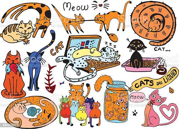 Cute vector catsfunny doodle wallpaper vector id494026072?b=1&k=6&m=494026072&s=612x612&h=lhzggurby drzzxbfajnw8ts imzxdsi5rb iwxjuji=