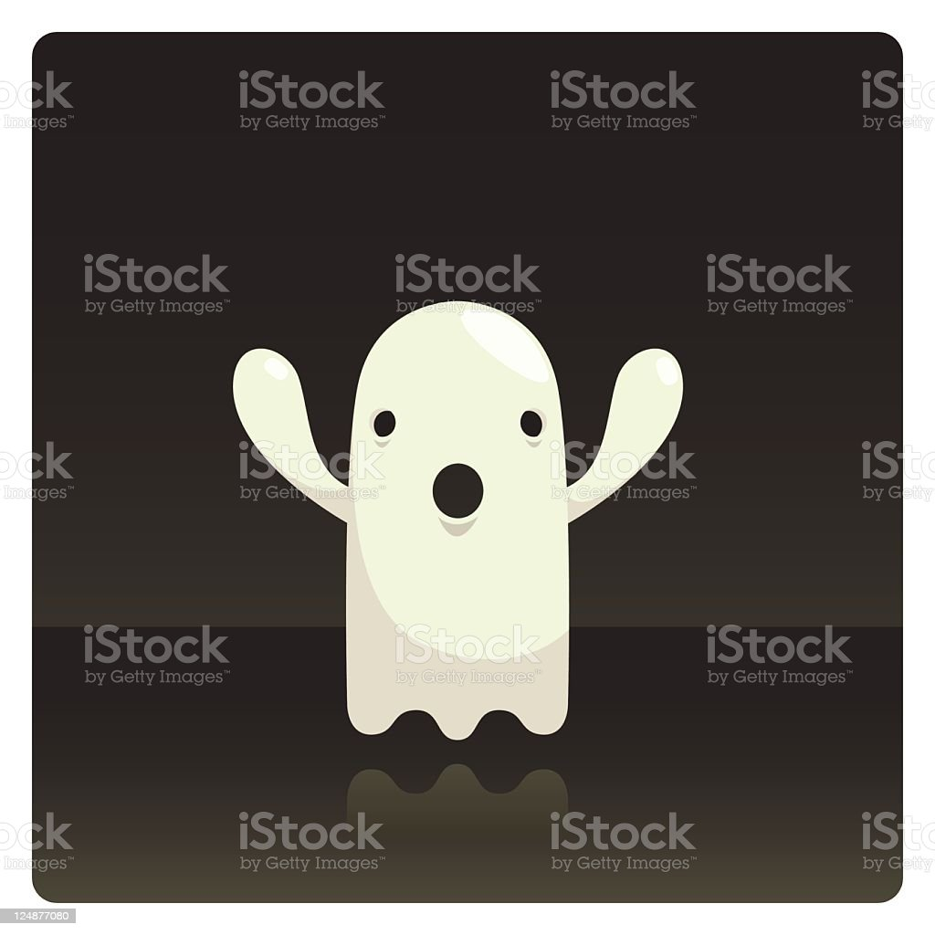Cute Vector Ghost Character Boo royalty-free cute vector ghost character boo stock vector art & more images of color image