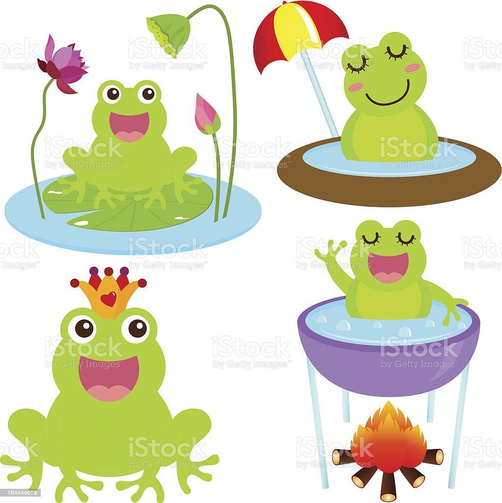 かわいいベクトルのアイコン動物 蛙 のイラスト素材 164444668   istock