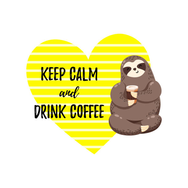 Royalty Free Funny Coffee Sayings Clip Art, Vector Images ...
