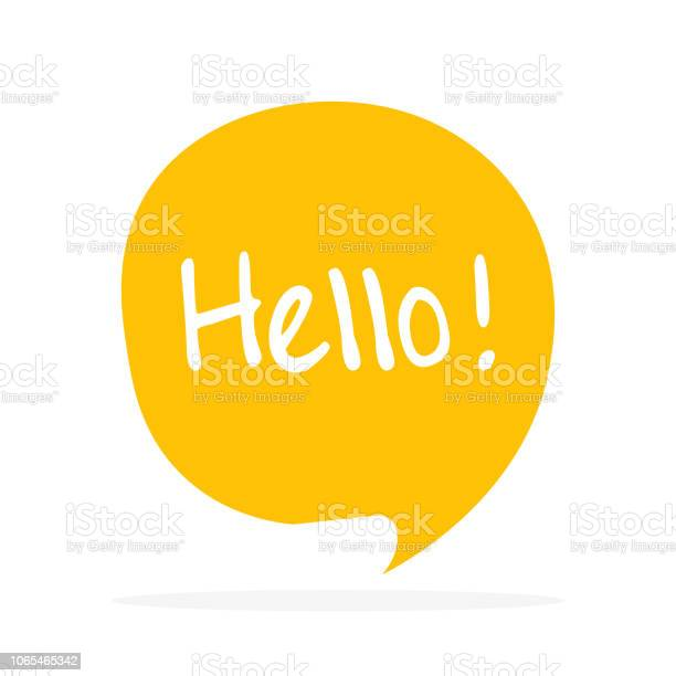 Cute vector speech bubble icon with hello greeting vector id1065465342?b=1&k=6&m=1065465342&s=612x612&h=pj iwbkabvmofimjjszcgvwmmi2yk2wtqfx1ye1h4ui=