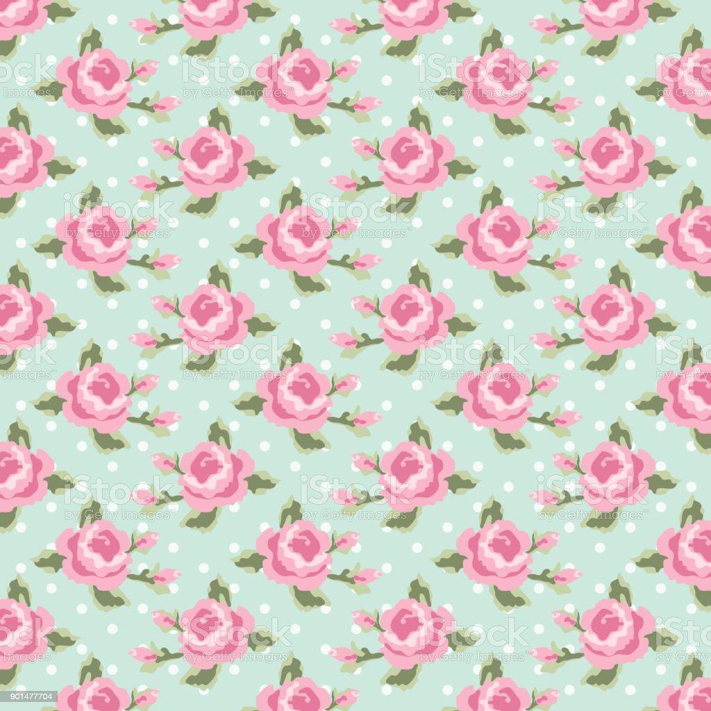 cute vintage shabby chic floral fond pour votre décoration