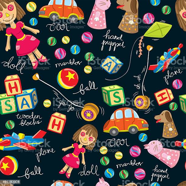 Cute vintage toys background suitable for wrapping paper vector id491183928?b=1&k=6&m=491183928&s=612x612&h=uapcccefgmv13qrz6 6a zb y6yf8fev0qdobho4px4=