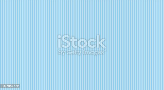 Blue stripes seamless pattern. Classic backdrop for invitation card, wrapper and decoration party (wedding, baby boy shower, birthday)
