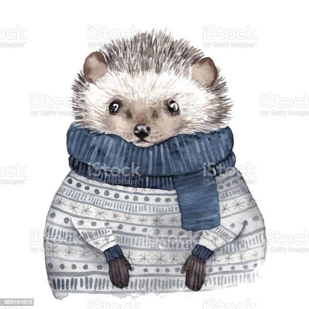 Cute watercolor hedgehog vector id868454976?b=1&k=6&m=868454976&s=612x612&h=lpqlo1 a6wn1rpz kqvnmes4qw8eu 5ivfp01yteukk=