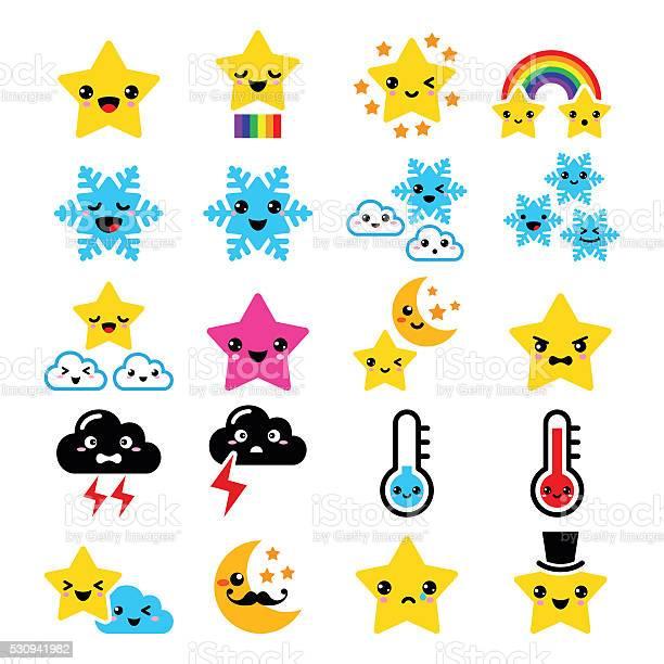 étoiles Souriantes Telecharger Vectoriel Gratuit Clipart