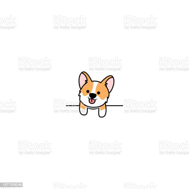 Cute welsh corgi dog paws up over white wall vector illustration vector id1077326248?b=1&k=6&m=1077326248&s=612x612&h=i0yyb43nsrtvypg9enin6v 8t5skwyld6zx9rp77k c=