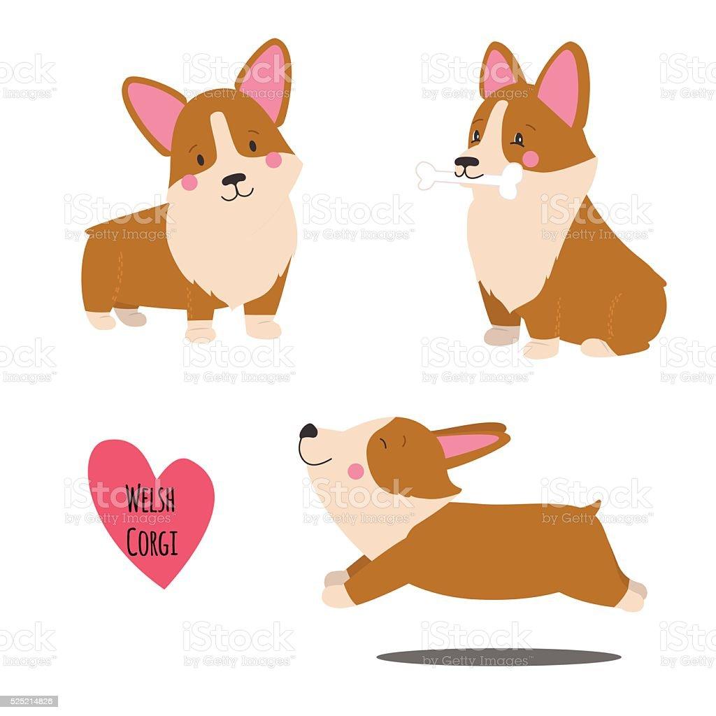 Royalty Free Pembroke Welsh Corgi Clip Art, Vector Images ... Welsh Terrier 6 Months