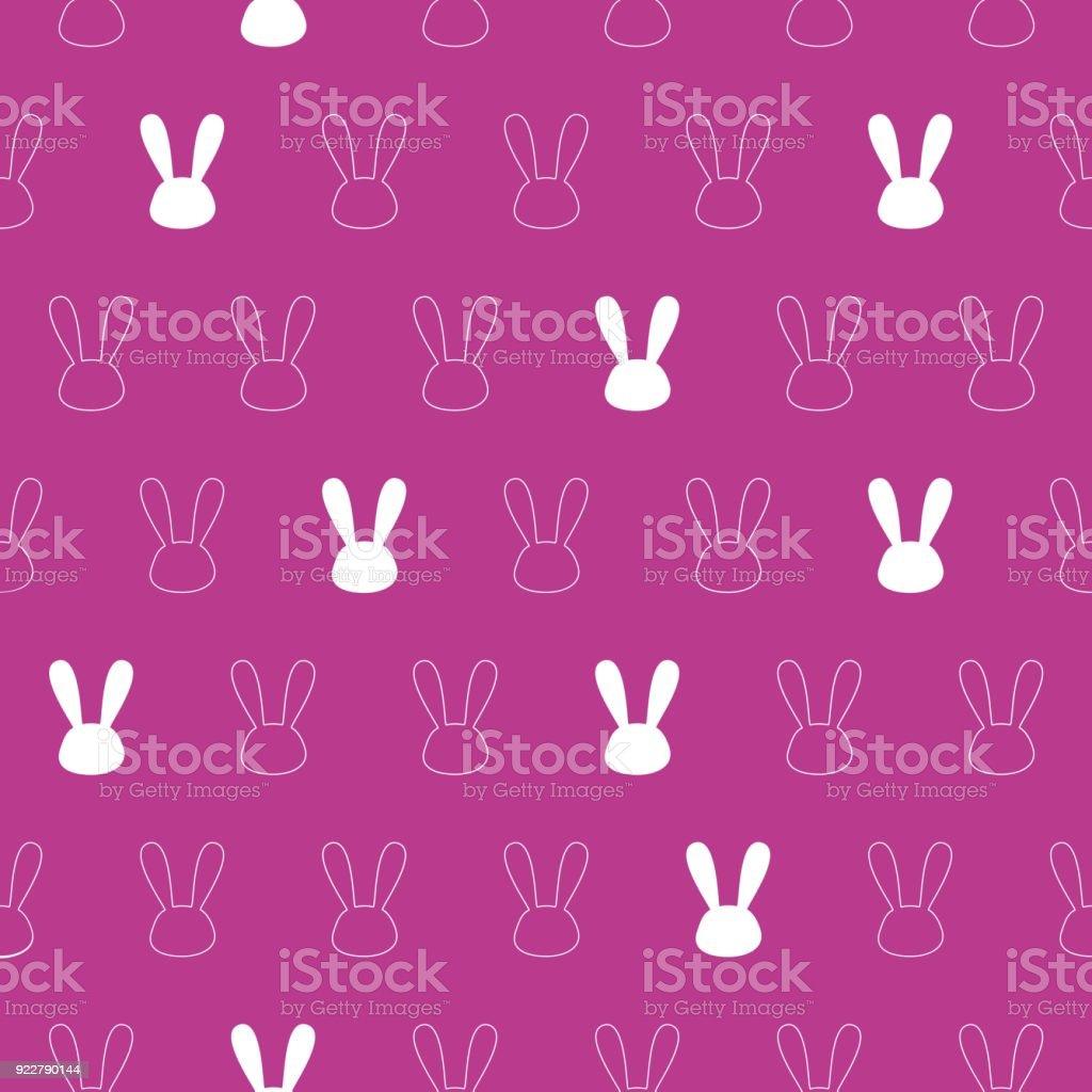 ピンクのシームレスなパターン背景テクスチャ壁紙バナーラベルベクター
