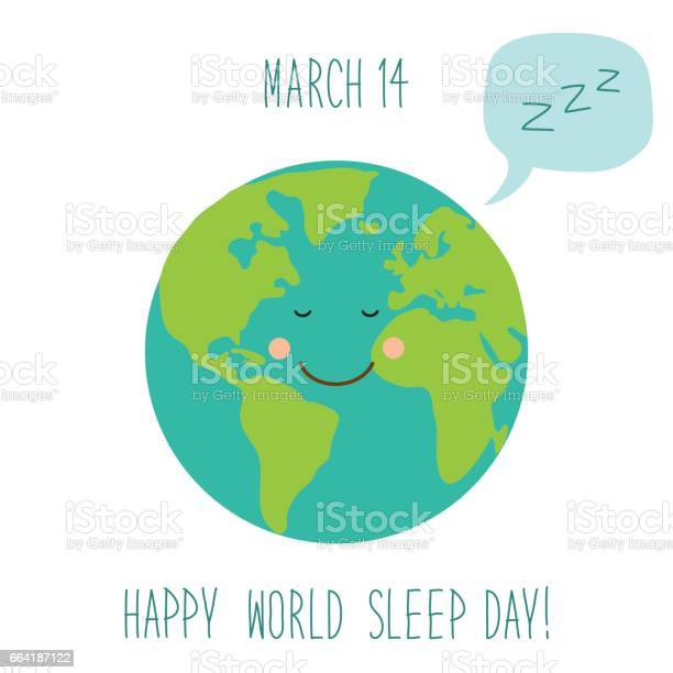 Cute world sleep day background with funny cartoon character of vector id664187122?b=1&k=6&m=664187122&s=612x612&h=3sxz rqteap7eyu t t5lrcwuksrjmn1nypgidew8zs=