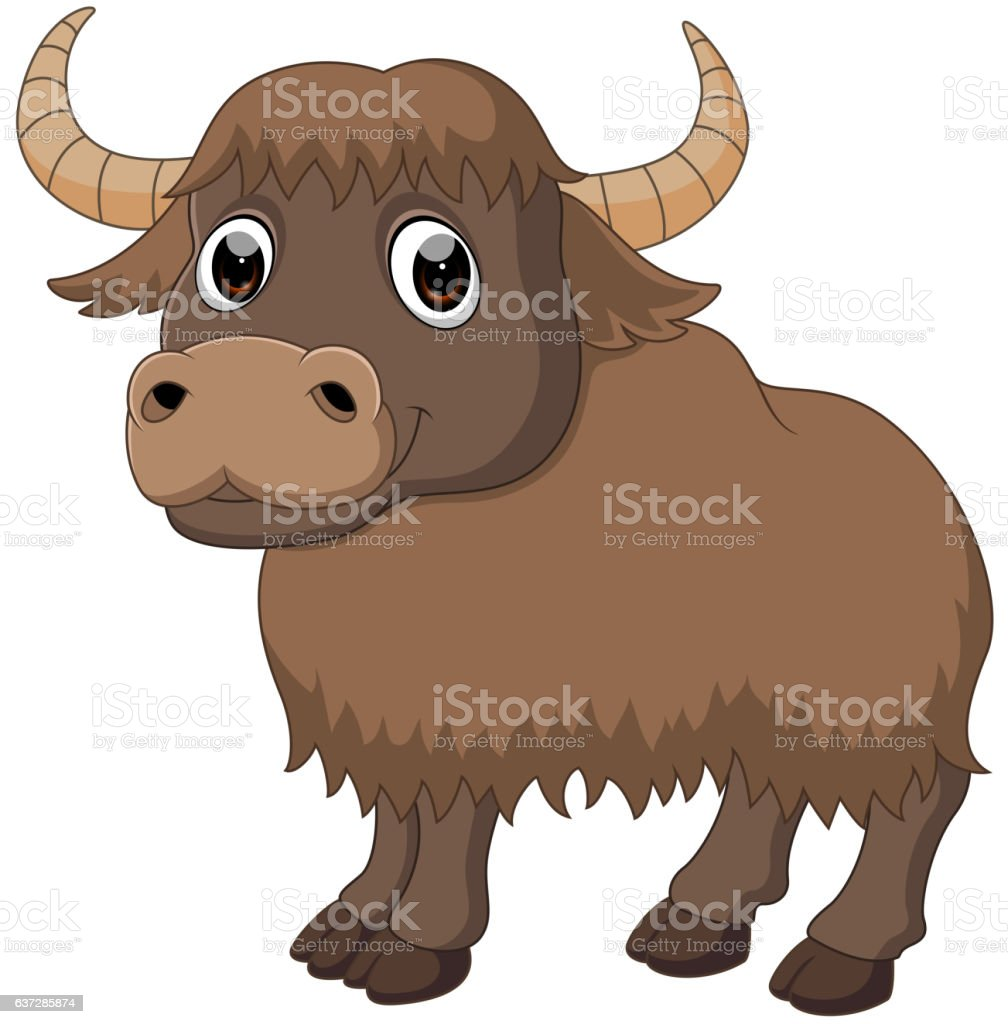 royalty free yak clip art vector images illustrations istock rh istockphoto com Yak Clip Art Black and White yak clipart free