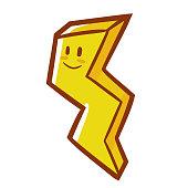 cute yellow thunder