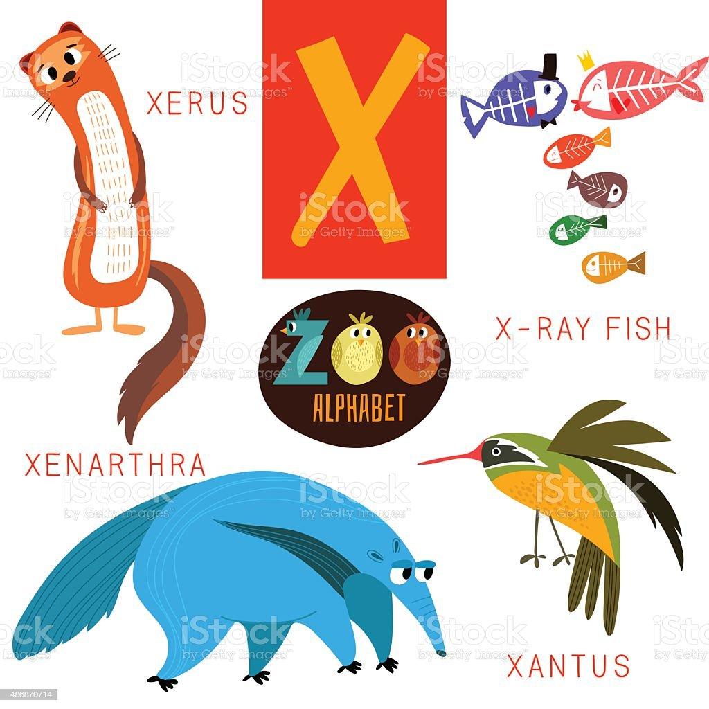 かわいい動物園 vectorx 文字にまでつながっているようです面白い漫画