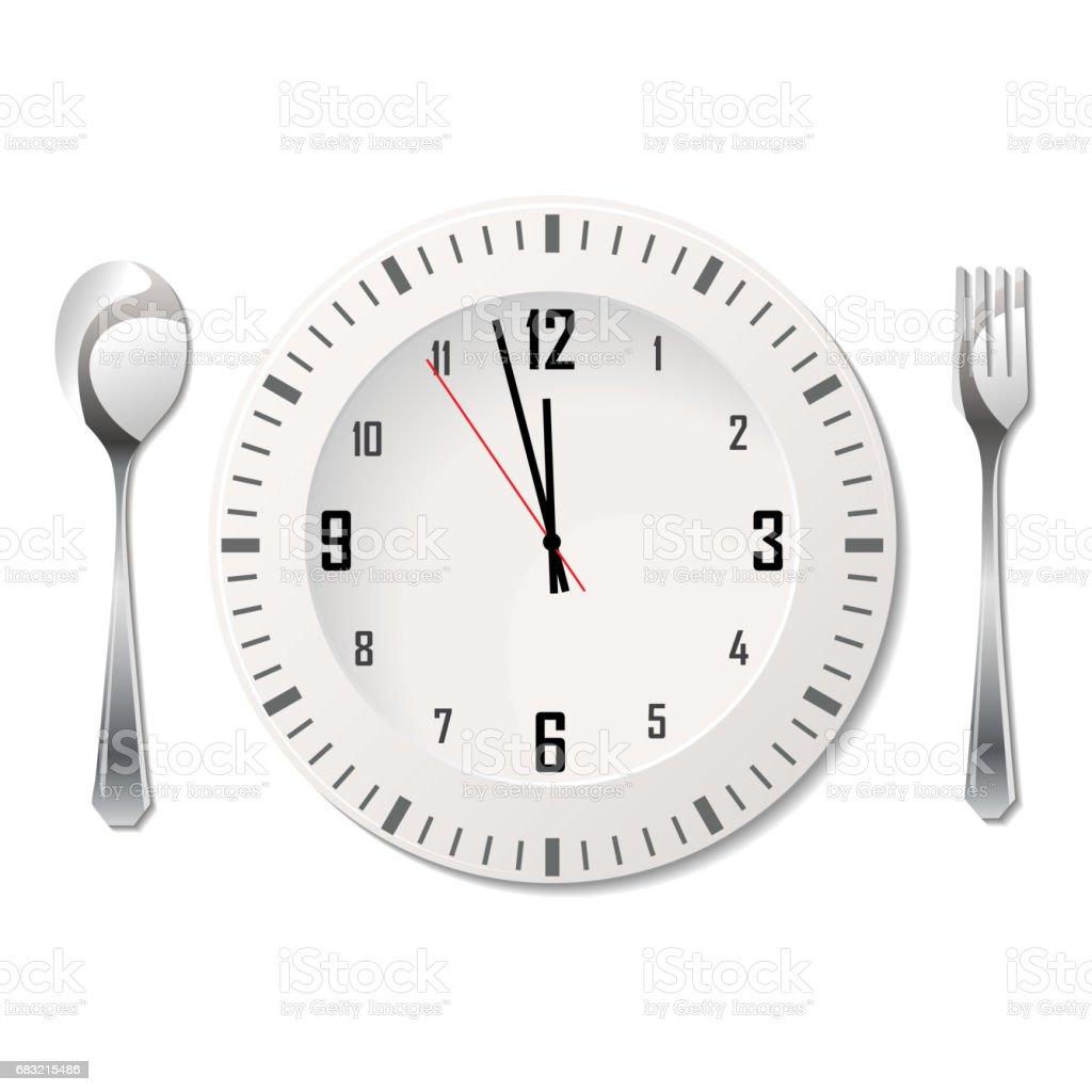 시계와 칼 붙이 royalty-free 시계와 칼 붙이 0명에 대한 스톡 벡터 아트 및 기타 이미지