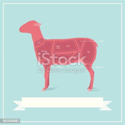 istock Cuts of Lamb 452509367