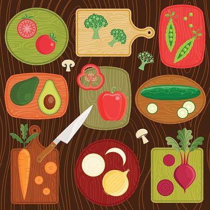 Cutting Board Vegetables