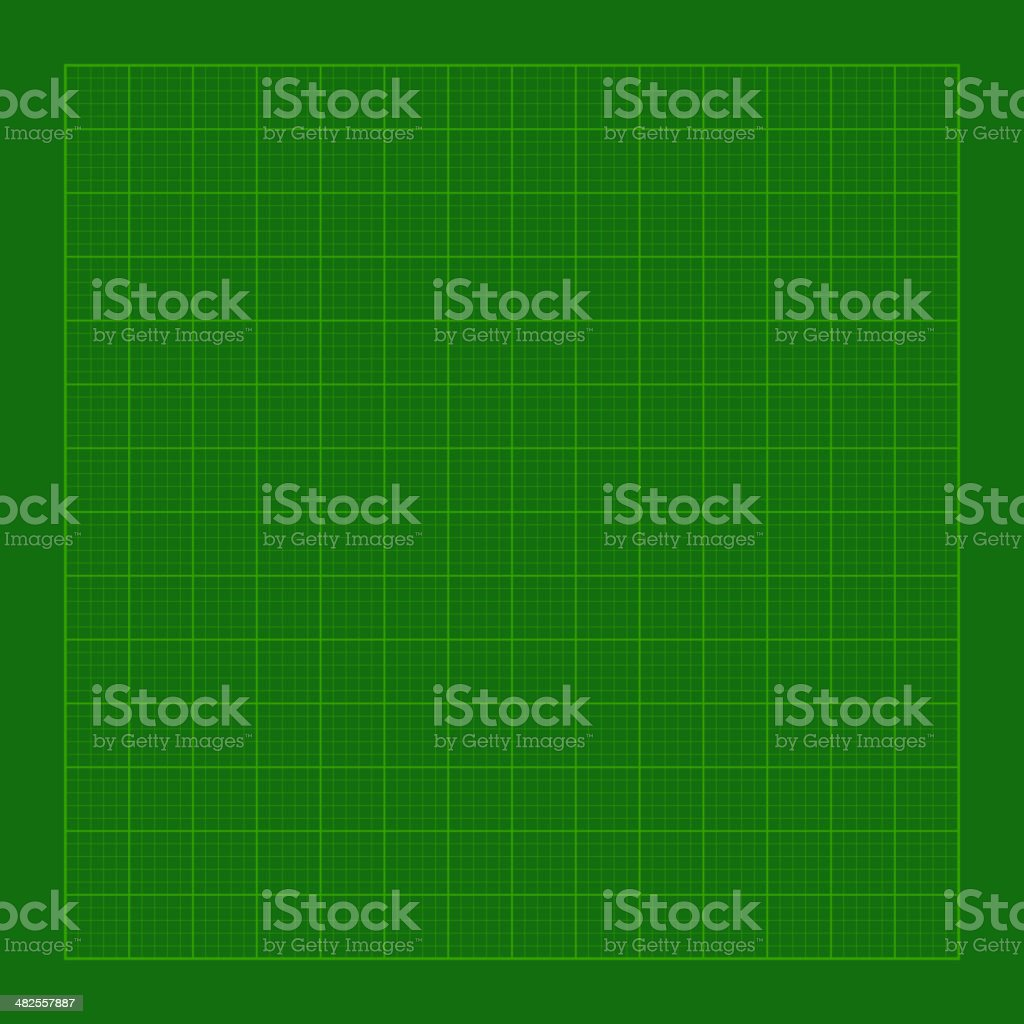Cutting Green Mat with Greed. Vector royalty-free cutting green mat with greed vector stock vector art & more images of backgrounds