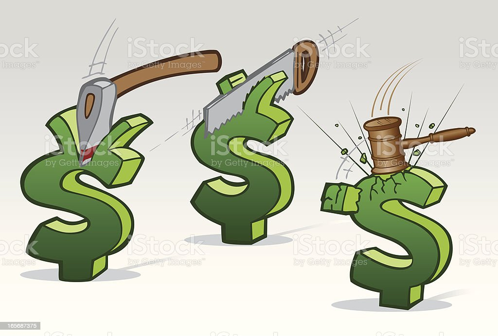 Cutting Prices royalty-free cutting prices stock vector art & more images of cartoon
