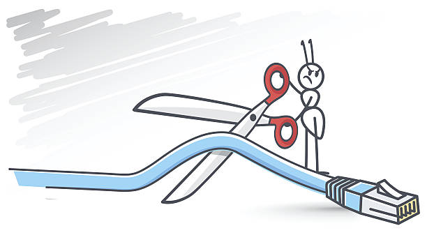 Best Cut The Cord Illustrations, Royalty-Free Vector ...