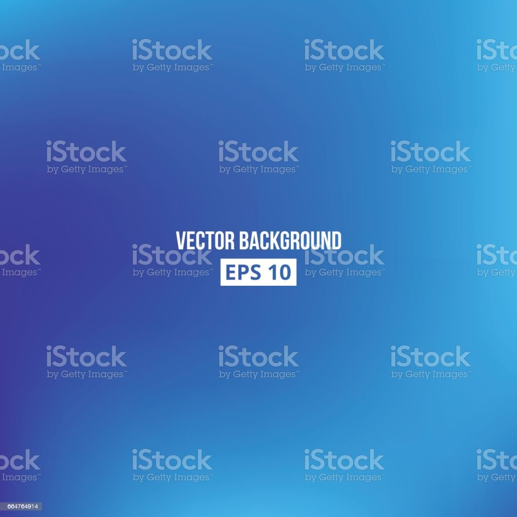Cyan blue blur gradient vector art illustration