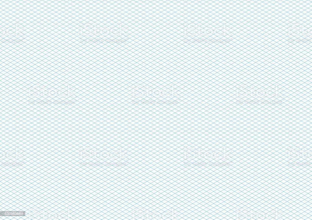 Top Cyan Couleur Isométrique Grille Sur Blanc Fond Format A4 Stock  LK75