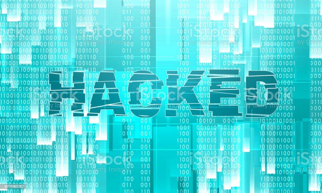 Ilustración de Fondo Del Tema De Ataque Cibernético y más banco de ...