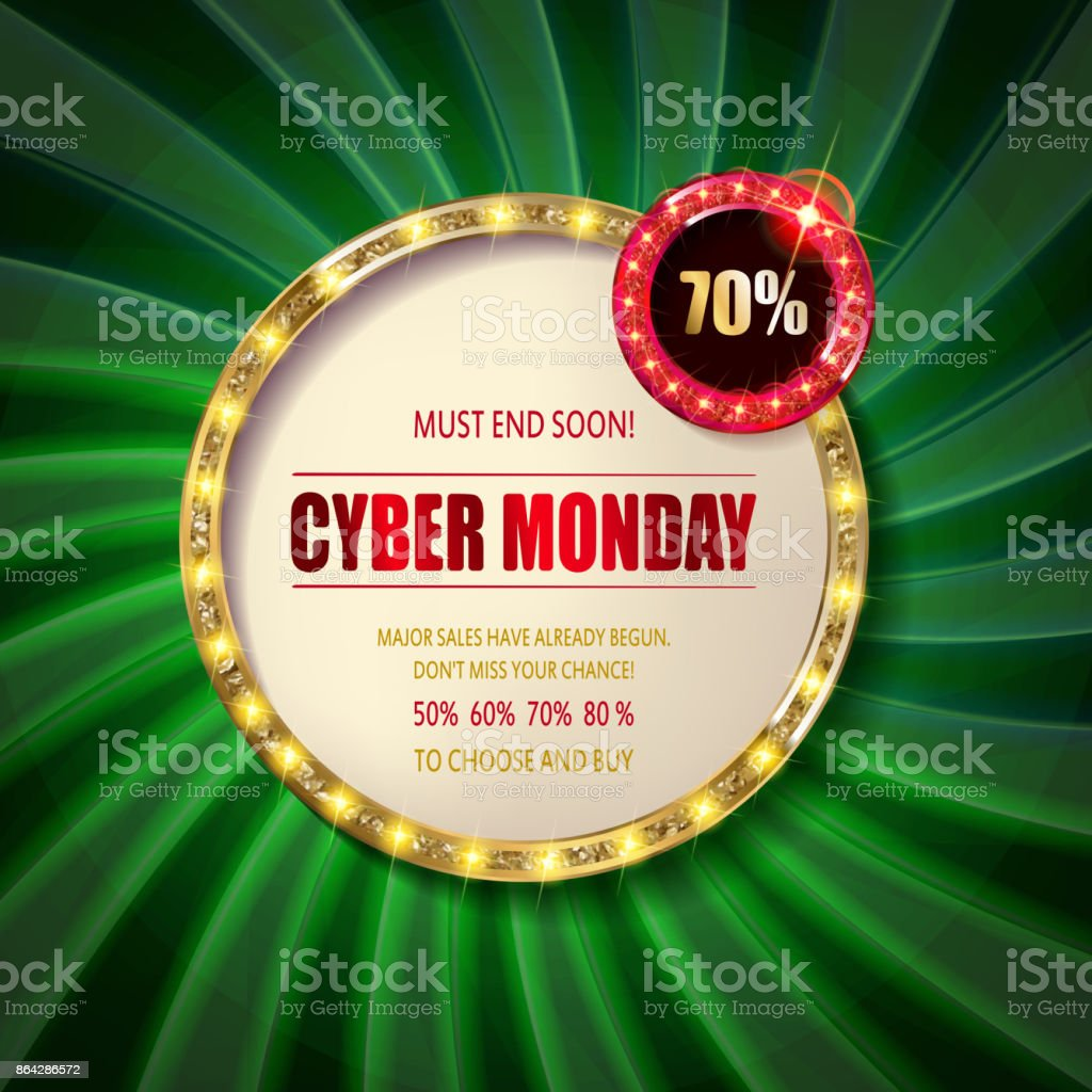 Cyber Monday Sale sign template. royalty-free cyber monday sale sign template stock vector art & more images of abstract