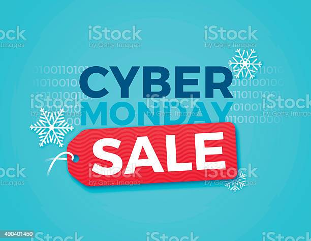 Cyber Monday Sale Stock Illustration - Download Image Now