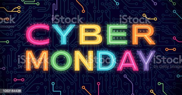 Cyber Monday Stock Illustration - Download Image Now