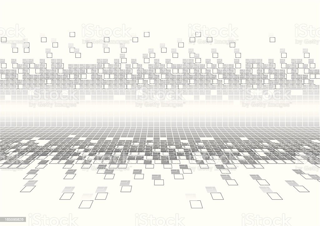 Cyber Pixels Background royalty-free cyber pixels background stock vector art & more images of abstract