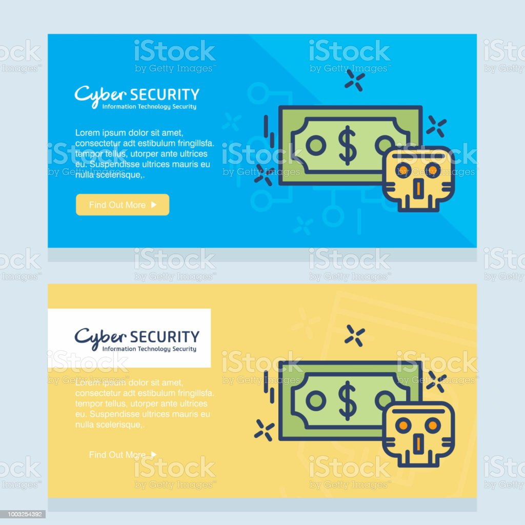 Cyber security design with creative design and icon vector art illustration