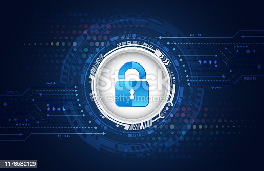 913017342 istock photo Cyber security internet and networking concept. Data protection privacy concept. 1176532129