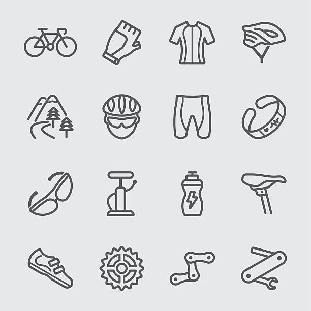 cycling line icon - 個人飾物 幅插畫檔、美工圖案、卡通及圖標