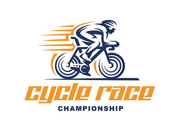 Cycling race Vector illustration vector art illustration
