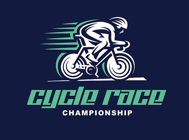 Cycling race Vector illustration. vector art illustration