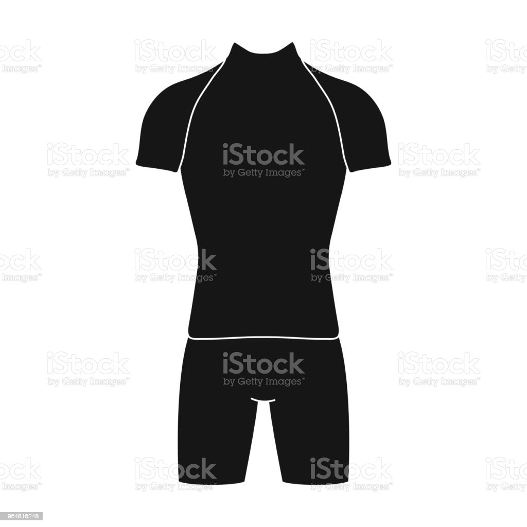 A cycling suit for riding a bicycle. Clothes cycling.Cyclist outfit single icon in black style vector symbol stock web illustration. royalty-free a cycling suit for riding a bicycle clothes cyclingcyclist outfit single icon in black style vector symbol stock web illustration stock vector art & more images of bicycle