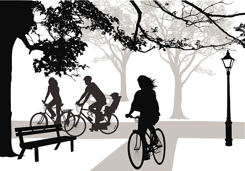 Cycling Through Parks