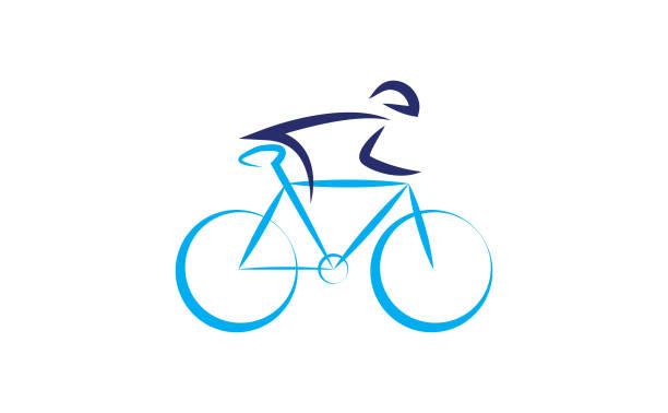 cycling - lustige fahrrad stock-grafiken, -clipart, -cartoons und -symbole
