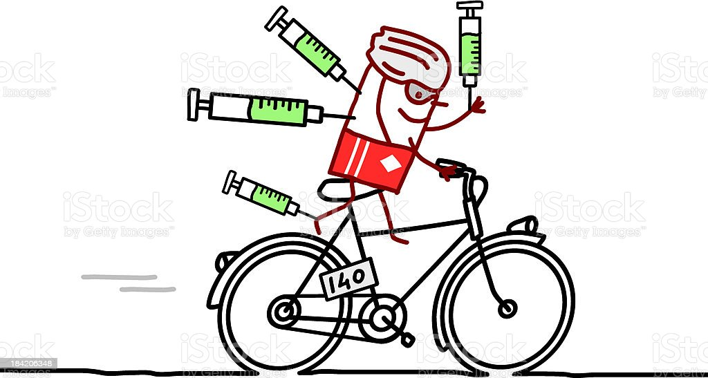 cyclist & doping royalty-free cyclist doping stock vector art & more images of adult