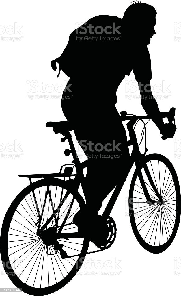 Cyclist to use in your design royalty-free cyclist to use in your design stock vector art & more images of adult