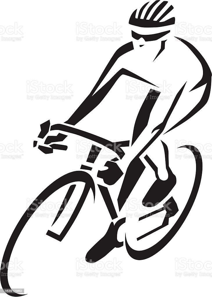 Cyclist royalty-free cyclist stock vector art & more images of adult