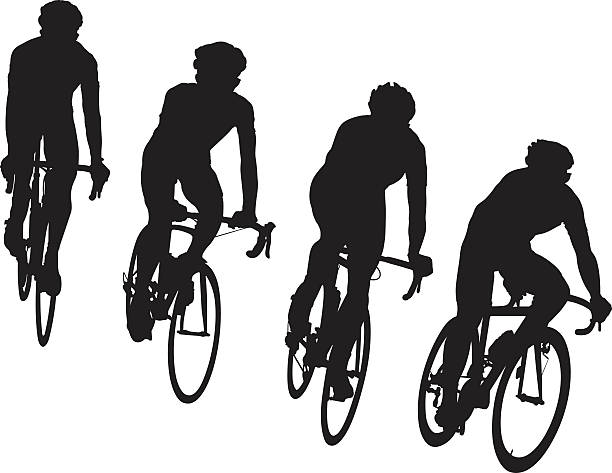 Royalty Free Racing Bicycle Clip Art, Vector Images ...