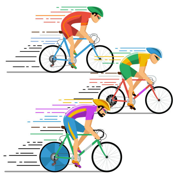 Royalty Free Cycling Race Clip Art, Vector Images ...