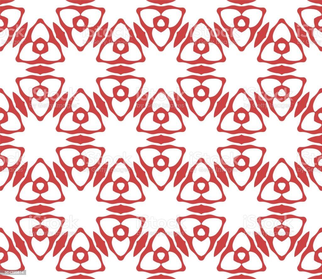 Cymatify repetição azulejo de padrão geométrico - Vetor de Abstrato royalty-free