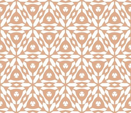 Cymatify Geometric Repeating Tile Pattern — стоковая векторная графика и другие изображения на тему Абстрактный