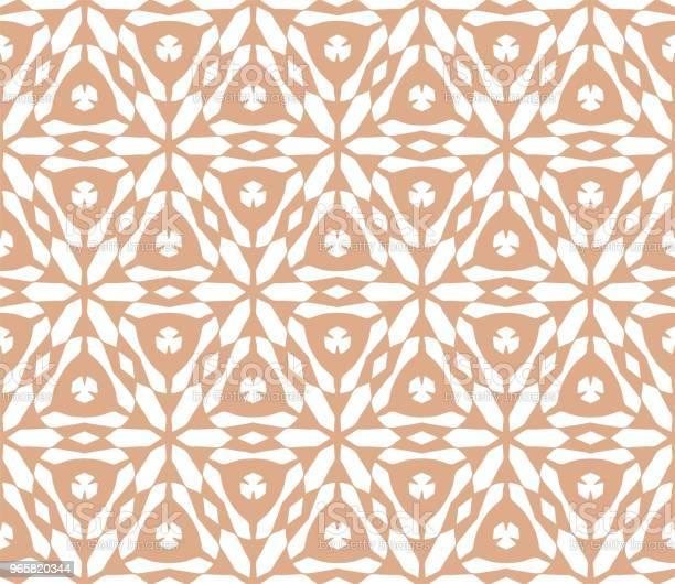 Cymatify Geometric Repeating Tile Pattern - Arte vetorial de stock e mais imagens de Abstrato