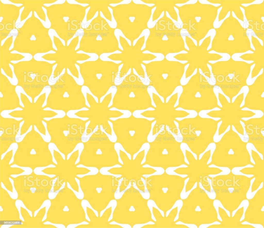 Cymatify geometriska upprepande kakel mönster - Royaltyfri Abstrakt vektorgrafik
