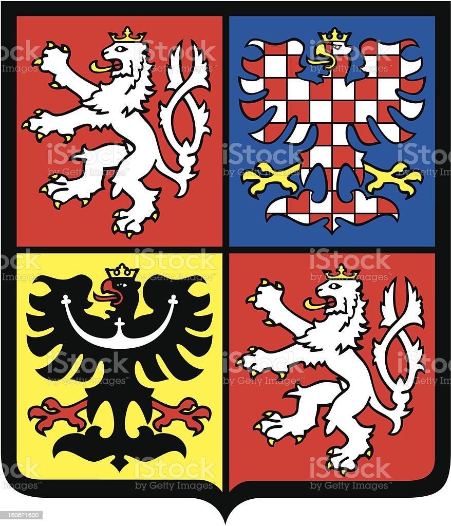 Czech republic coat of arms royalty-free czech republic coat of arms stock vector art & more images of bohemia
