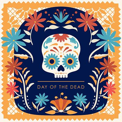 Día de Muertos (Day Of The Dead in Spanish) Composition